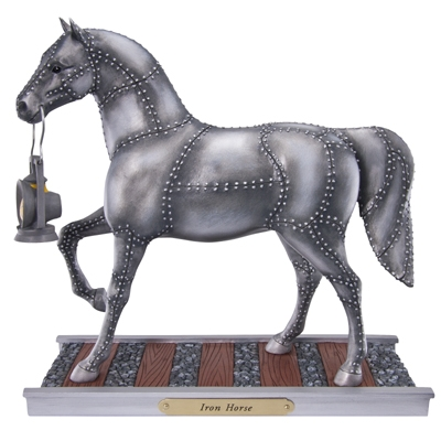 The Trail Of Painted Ponies - Iron Horse Figurine