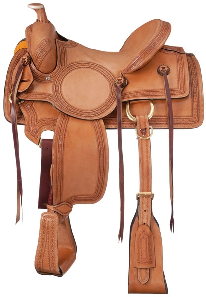 Royal King Red Oak Rancher Saddle