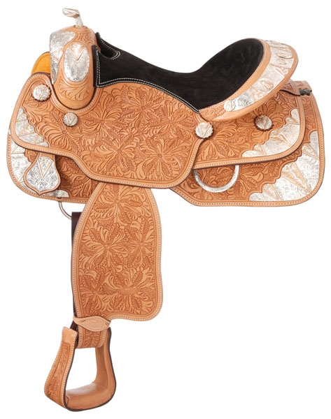 Silver Royal Copper V Rio Grande Silver Show Saddle