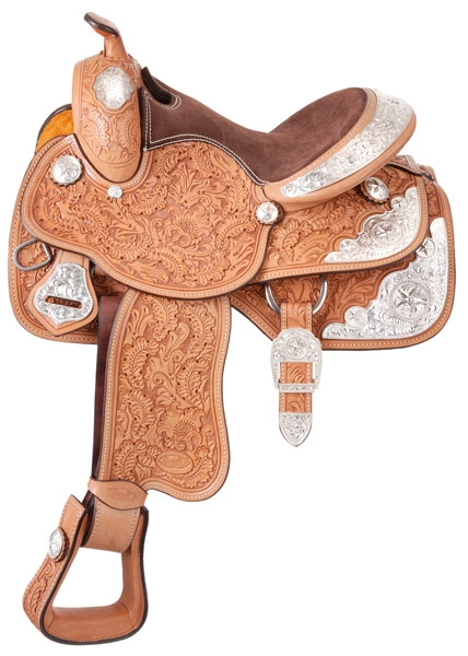 Silver Royal Youth Grandview Silver Show Saddle