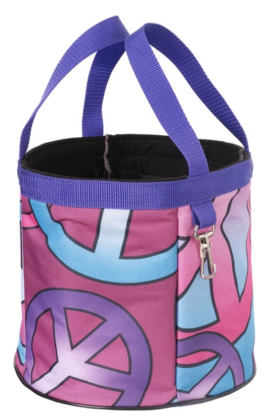 Tough-1 Final Touches Grooming Caddy - Candy Peace Print