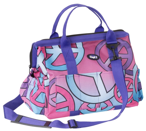 Tough-1 Print Show Case Groom Bag - Candy Peace Print