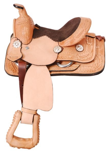 King Series Mini Western Roper Saddle Package