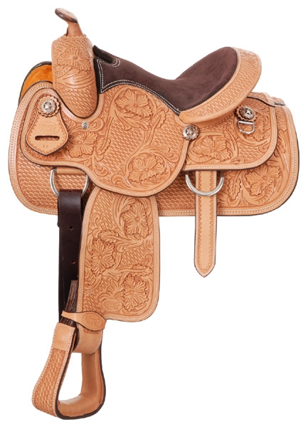 Silver Royal Challenger Show Saddle Package