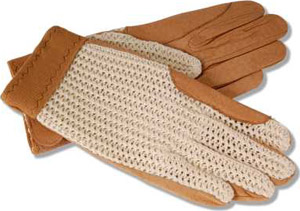 RJ Classics Ladies Crochet Back Glove