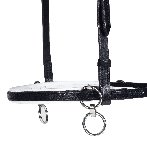 HorZe Head Halter with Martingale Ring