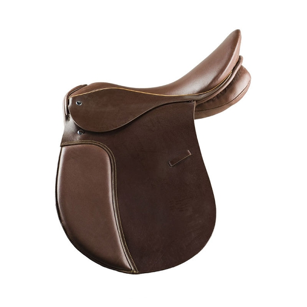 HorZe Allround Leather Saddle with Wooden Tree