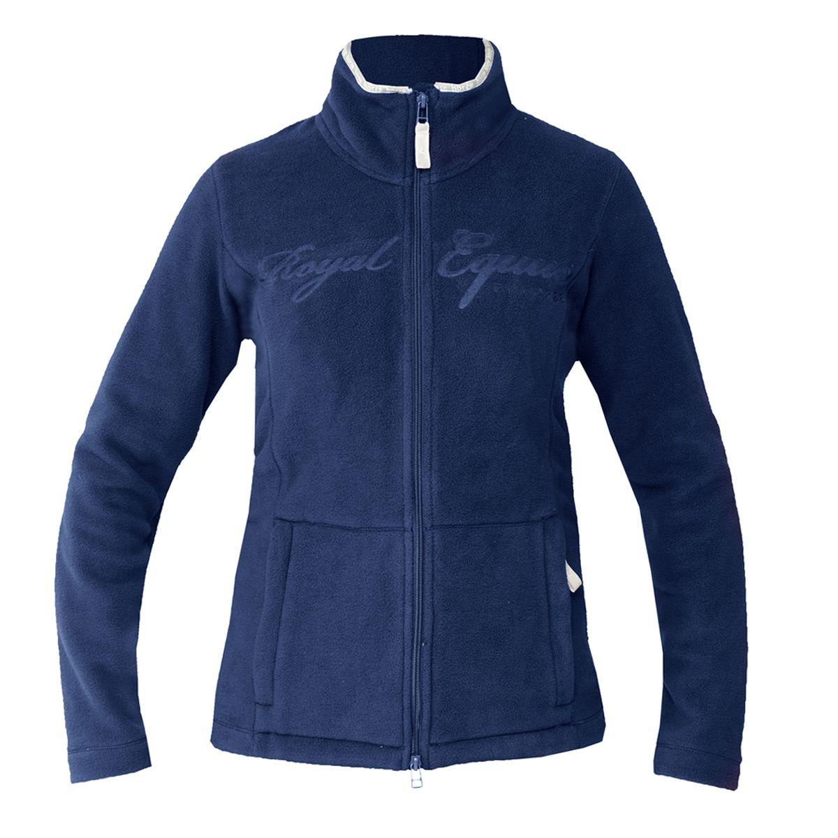 HorZe Sara Fleece Jacket with Heat Print - Junior