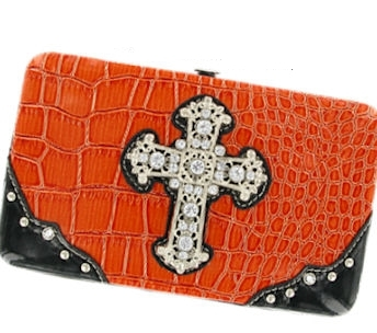 P & G Collection Cross Flat Wallet