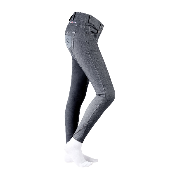 HorZe Denim Breeches Royal Equus Fullseat