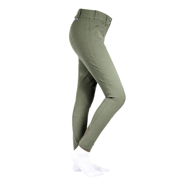 HorZe Ladies Grand Prix Faux Leather KP Breeches