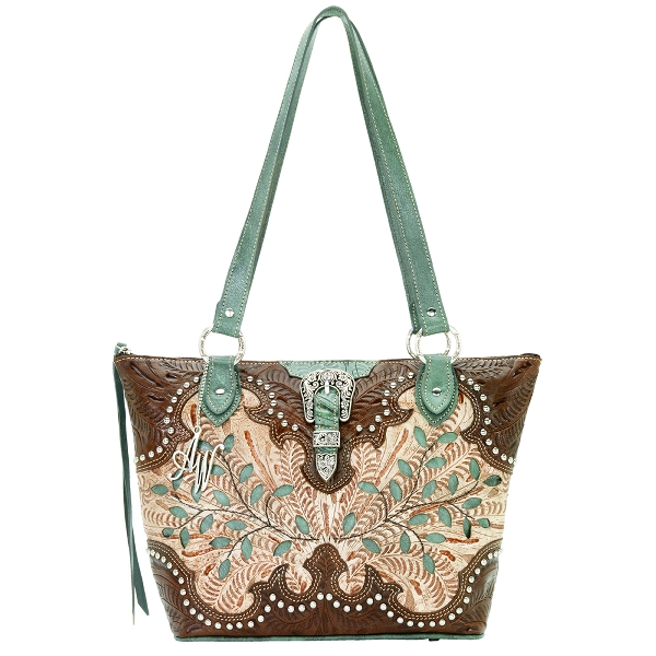 AMERICAN WEST Ponderosa Collection Handbag
