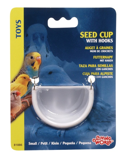 Living World Seed Cup with Hook