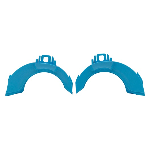 Habitrail OVO Left/Right Joints - Opaque Blue