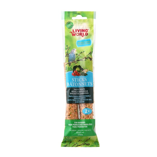 Living World Budgie Sticks