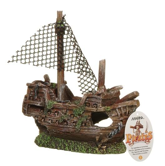 Marina Ornament Sunken Galleon