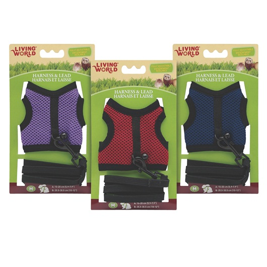 Living World Harness & Lead Set for Small Animals