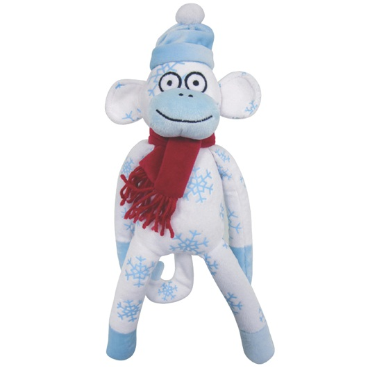 Dogit Luvz Xmas Sock, Monkey