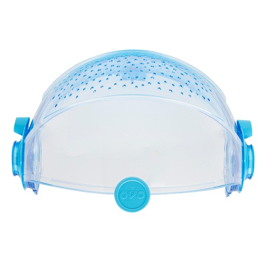 Habitrail OVO Retractable Roof - Clear Blue
