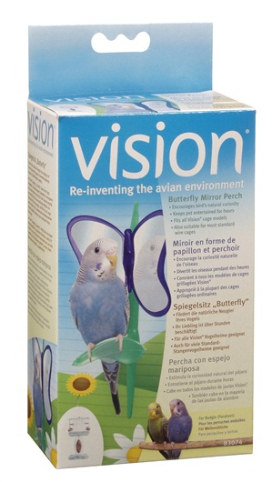 Vision Butterfly Mirror Perch