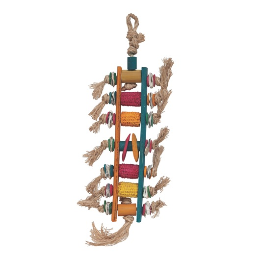 Living World Nature's Treasure Corn Cob Ladder Bird Toy