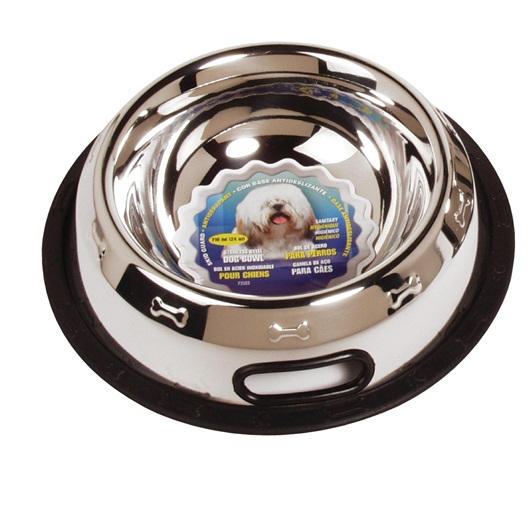 Dogit Stainless Steel Non Spill Dog Dish