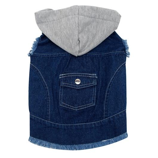 Dogit Denim Jacket with Hood