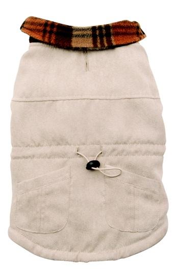 Dogit Faux Suede Coat