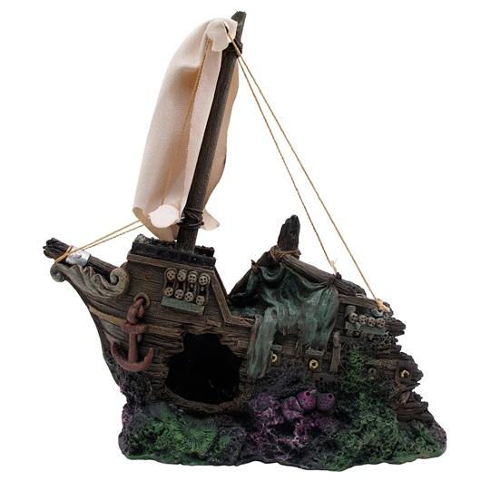 Marina Sunken Half Ship - Front