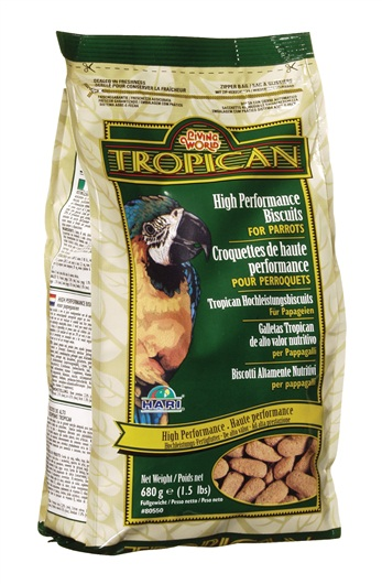 Tropican High Performance Parrot Biscuits