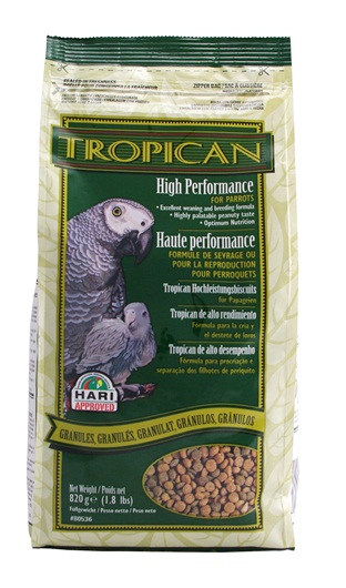 Tropican High Performance Parrot Granules