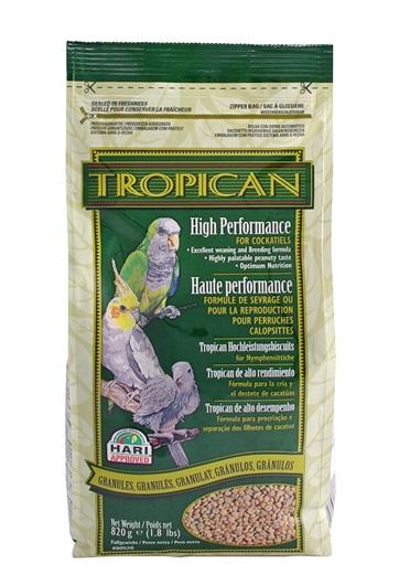 Tropican High Performance Cockatiel Granules