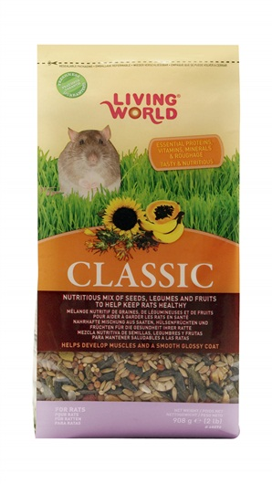 Living World Classic Rat Food