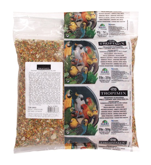 Tropimix Lovebird Cockatiel Food Mix