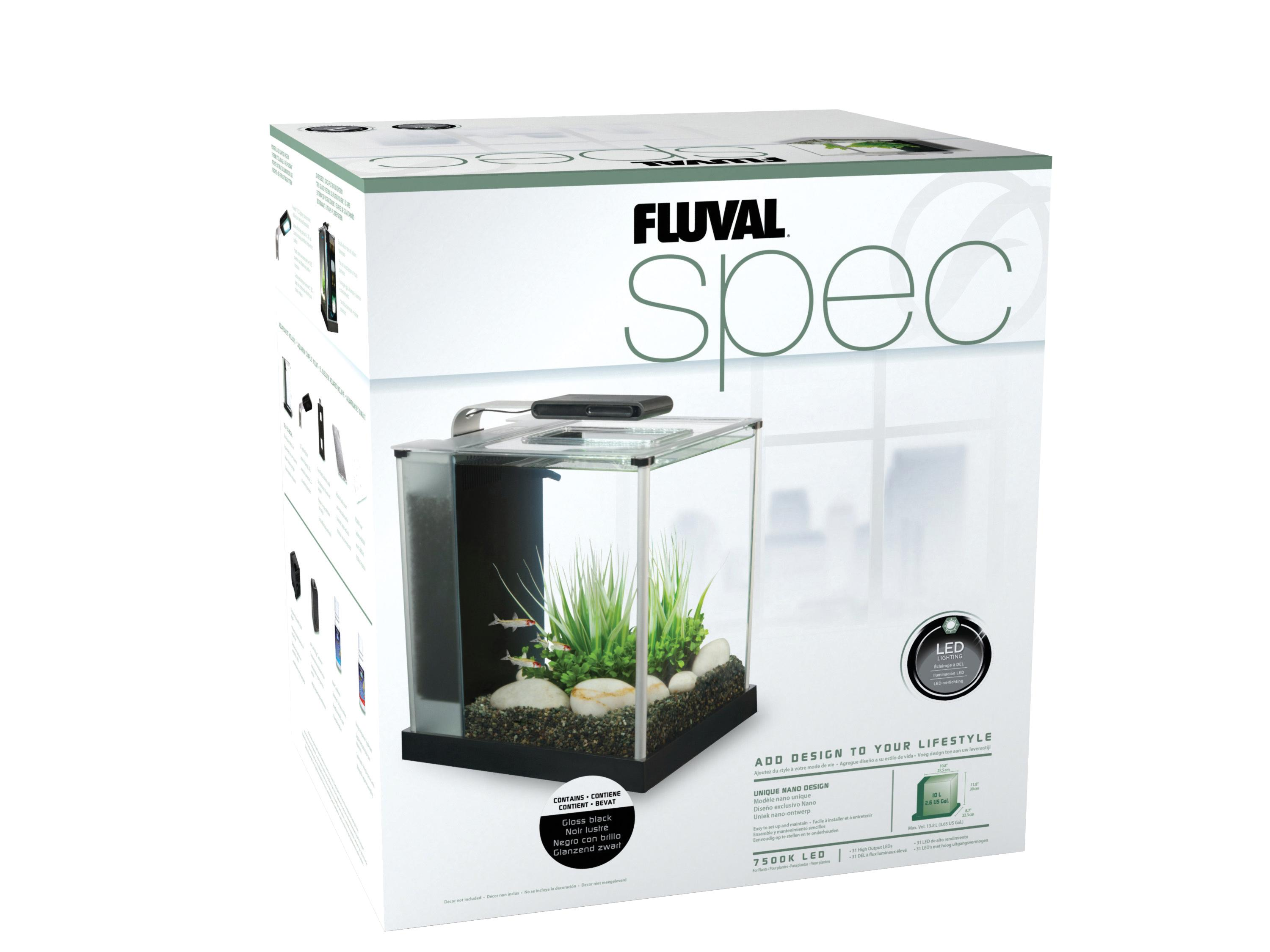 Fluval SPEC III Desktop Glass Aquarium