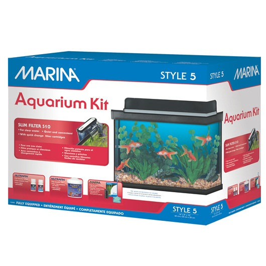 Marina Style 5 Glass Aquarium Kit