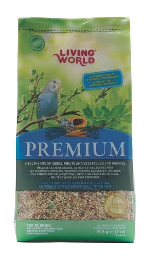 Living World Premium Budgie Food Mix