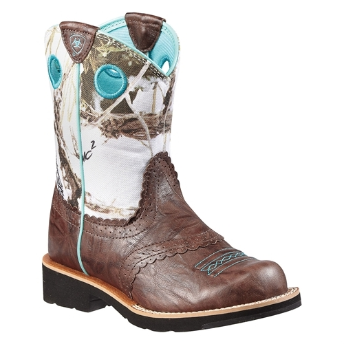 ARIAT Youth Fatbaby Cowgirl Boots
