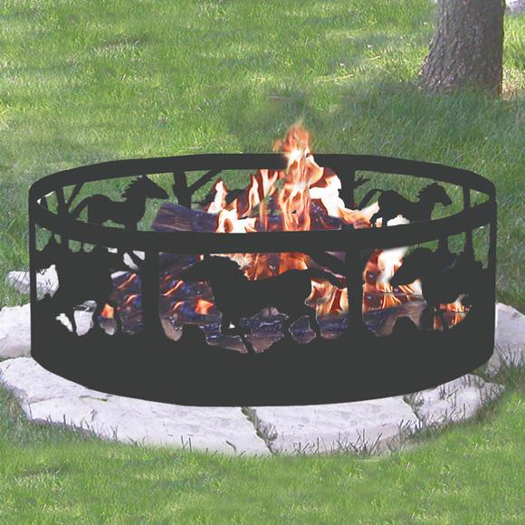 CobraCo Horse Campfire Ring