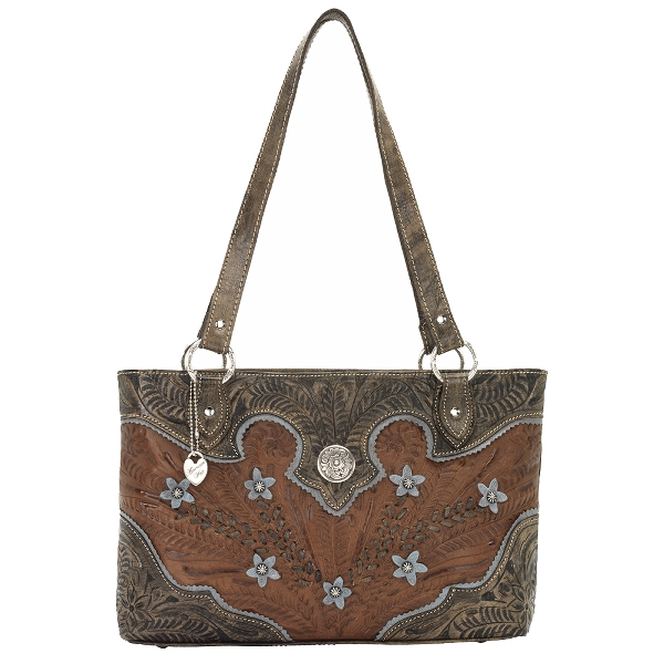AMERICAN WEST Desert Wildflower Zip-Top Tote