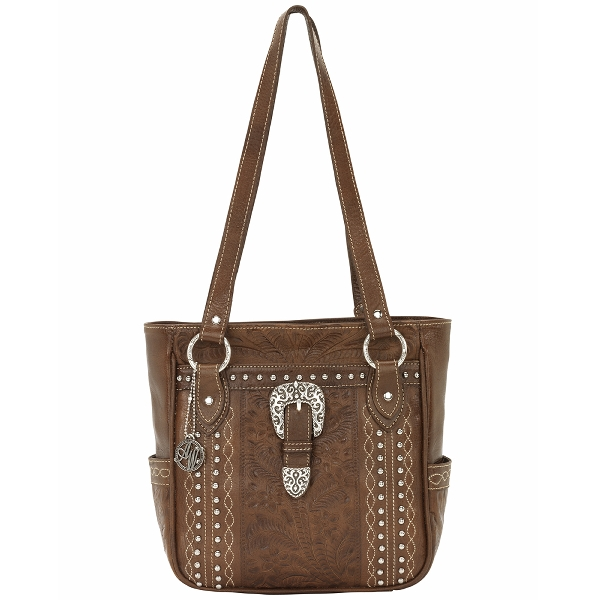 AMERICAN WEST Twisted Trail Zip-Top Tote