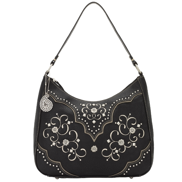Bandana Savannah Large Zip Top Shoulder Bag