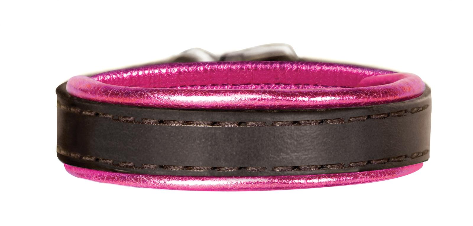 Perri's Metallic Padded Leather Bracelet