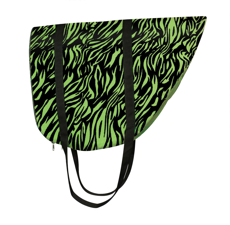 Perri's Zebra Saddle Bag