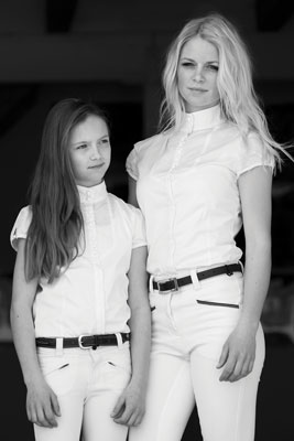 Horseware Girl's SS Competition Shirt