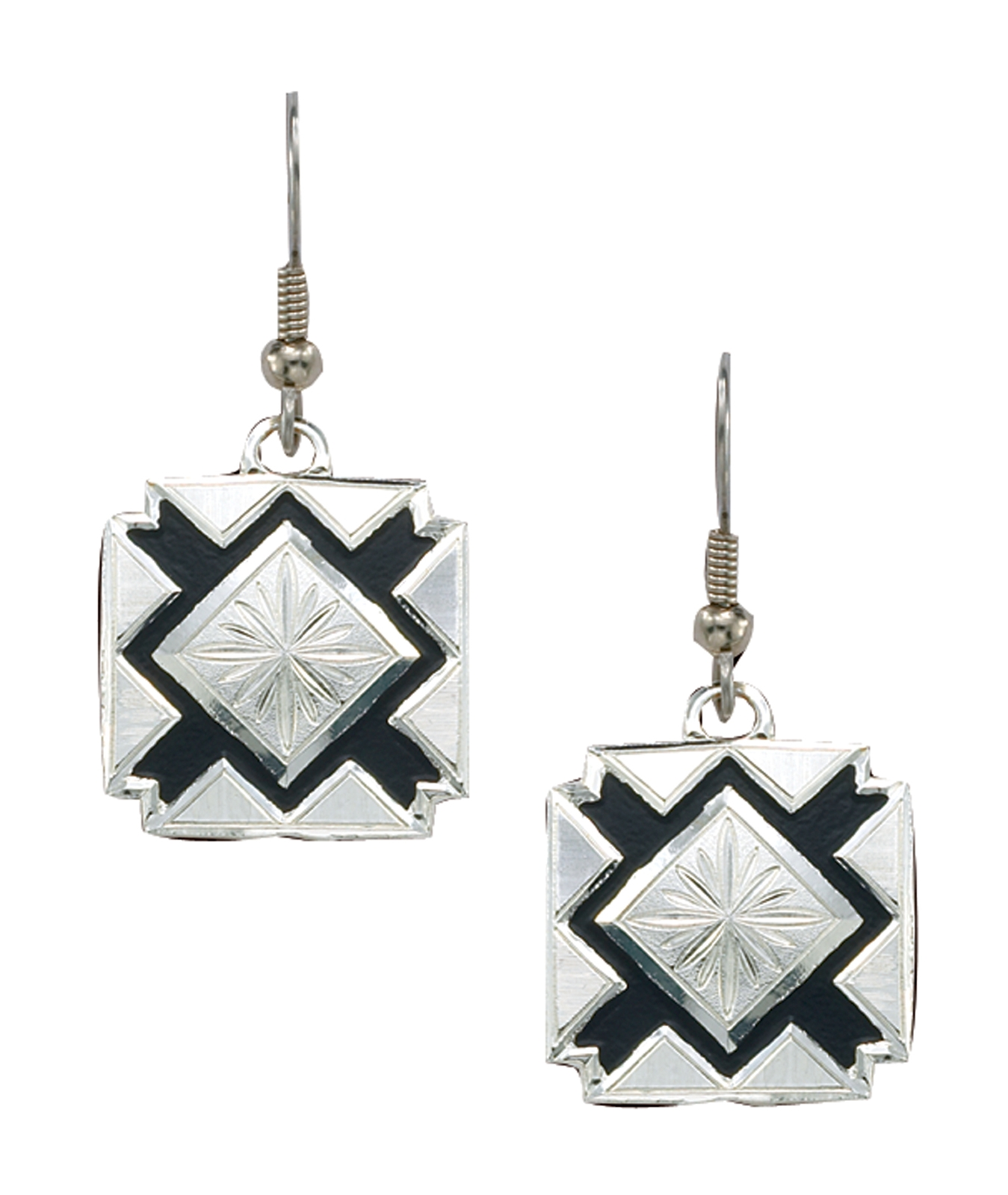 Montana Silversmiths Four Points Dangling Earrings