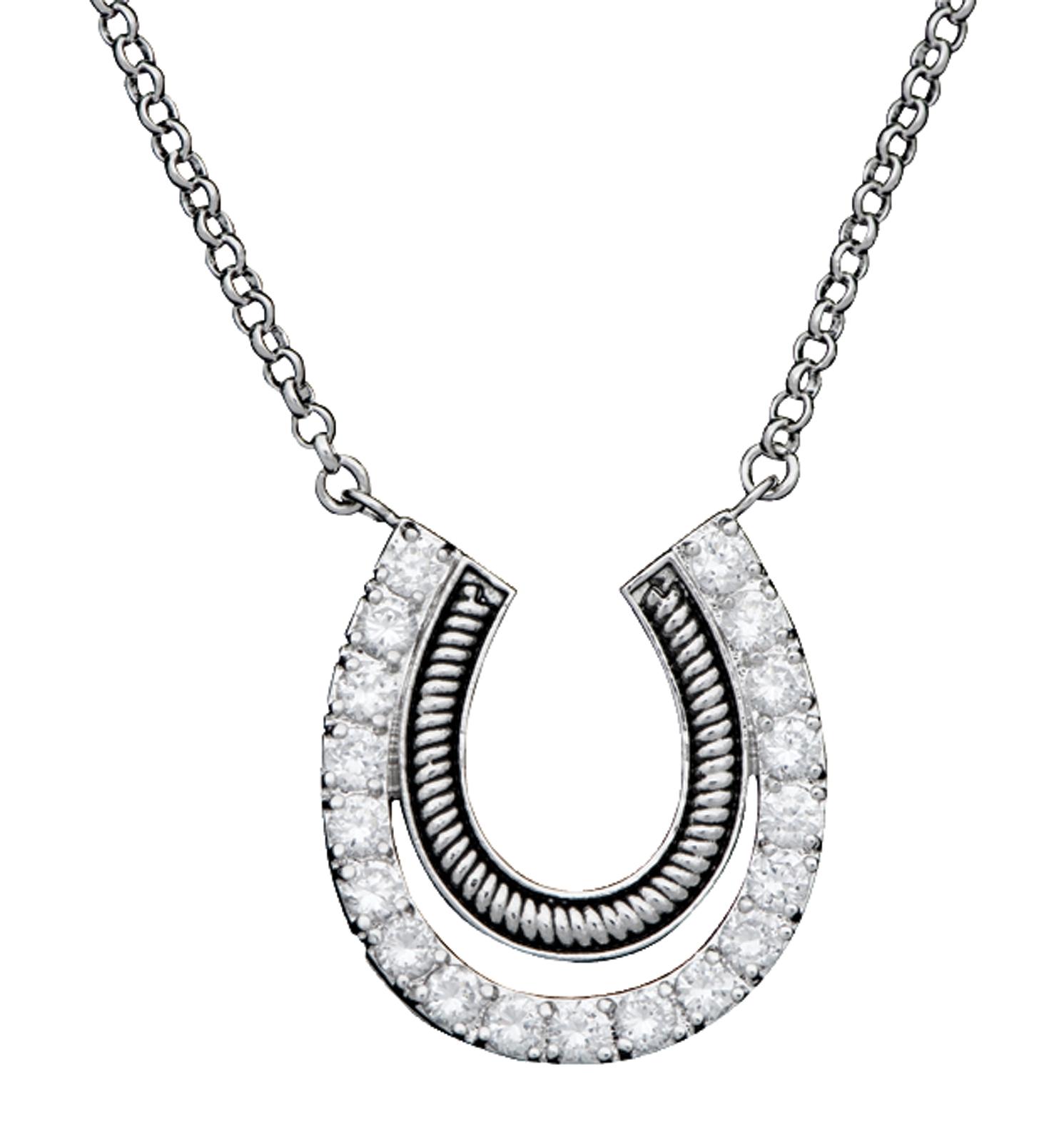 Montana Silversmiths Vintage Charm Pony Trekker Necklace