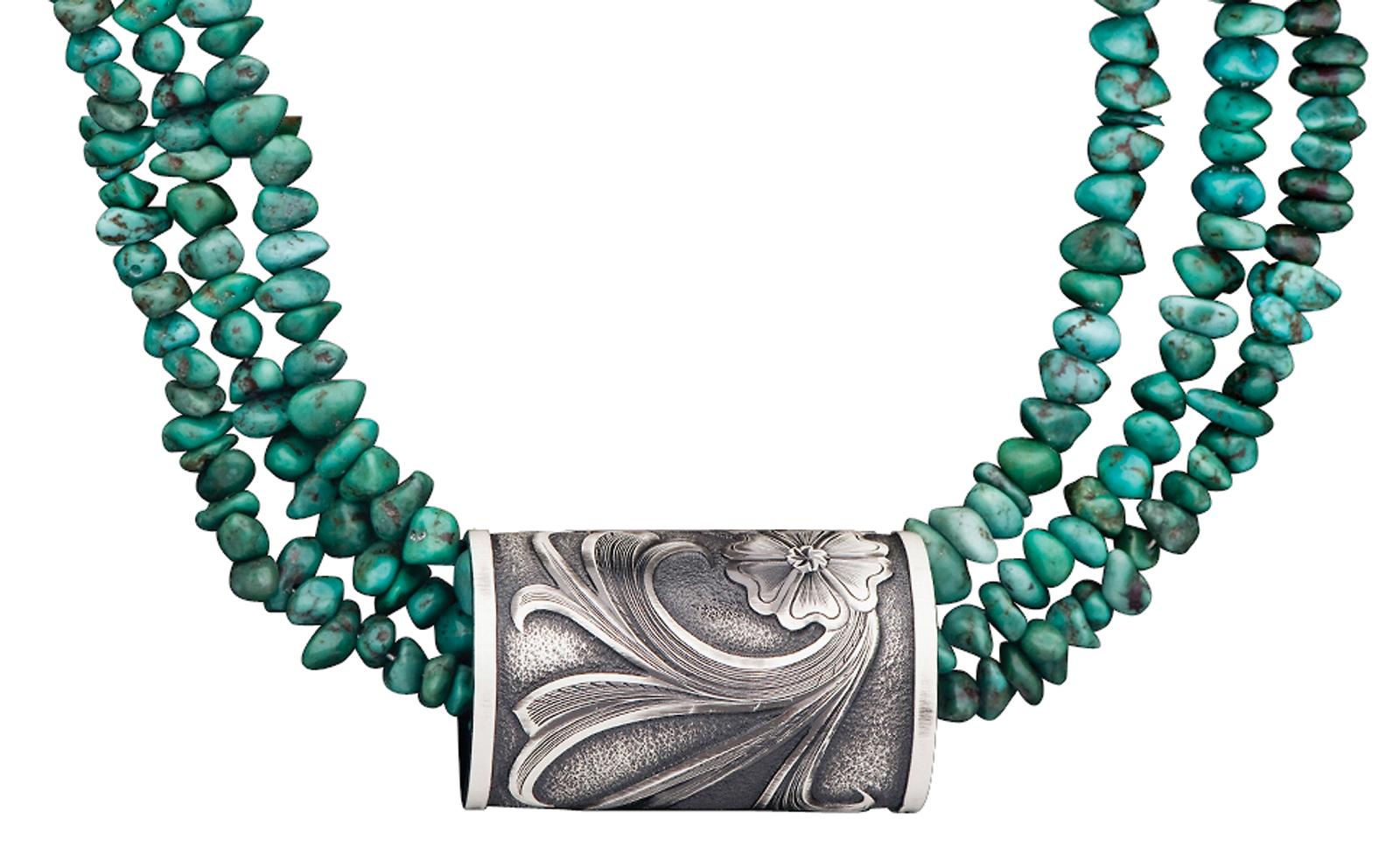Montana Silversmiths Classic Montana Cuff Ring Necklace