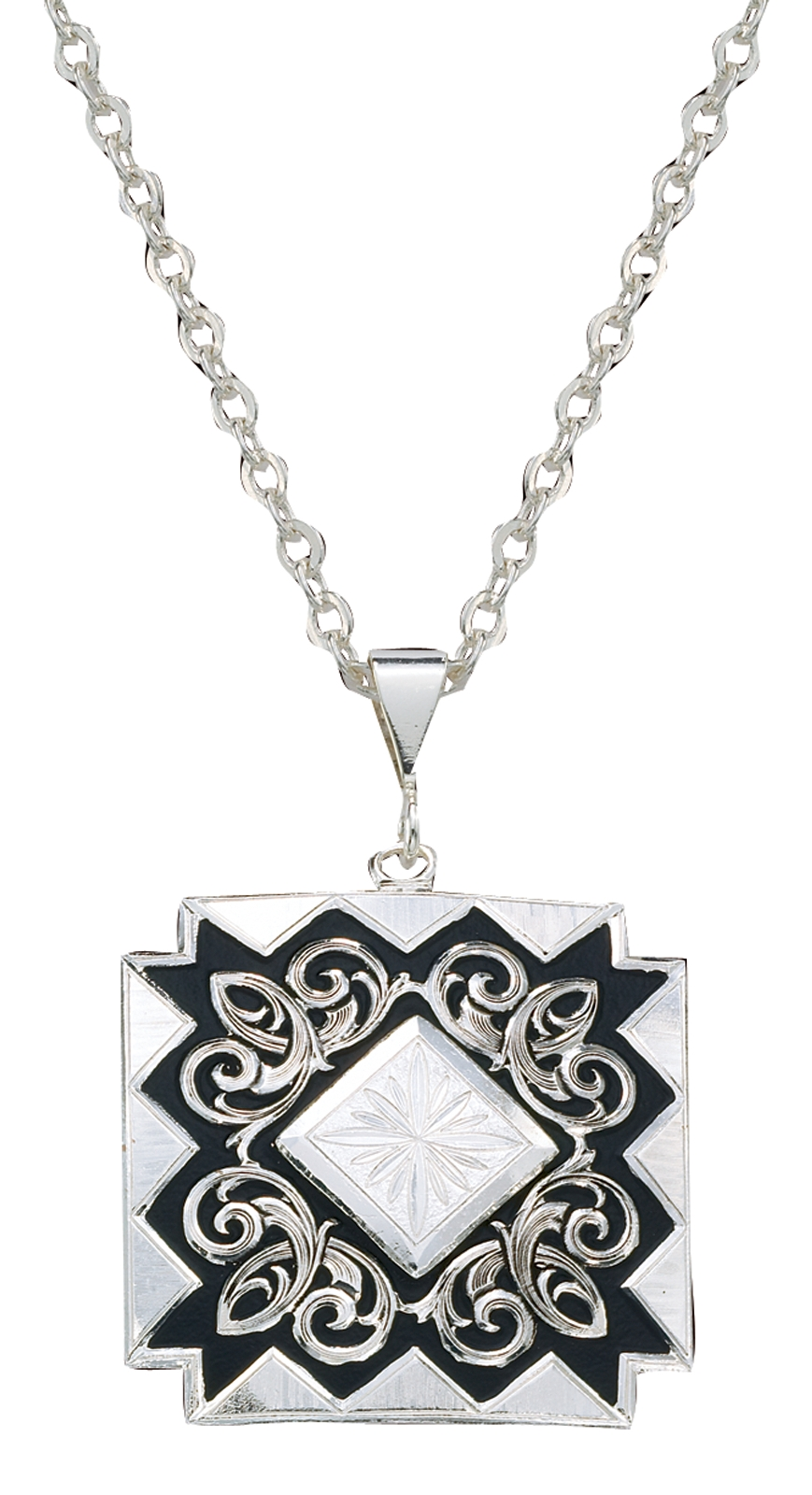 Montana Silversmiths Black Diamonds Pendant Necklace
