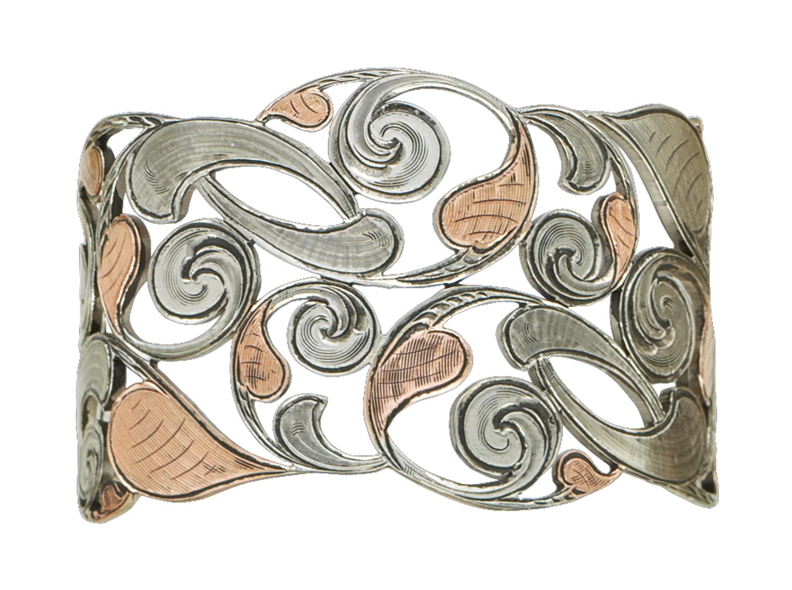 Montana Silversmiths Autumn Vines Cuff Bracelet